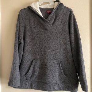 Woman size 4 Merona Pullover Gray